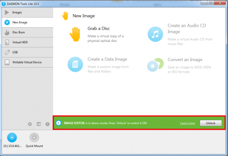 DAEMON Tools Lite for Windows 7
