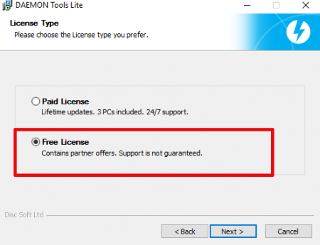 How to install DAEMON Tools